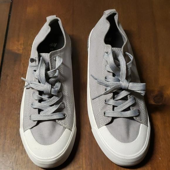 H\u0026M Shoes   New Mens H M Grey Sneakers